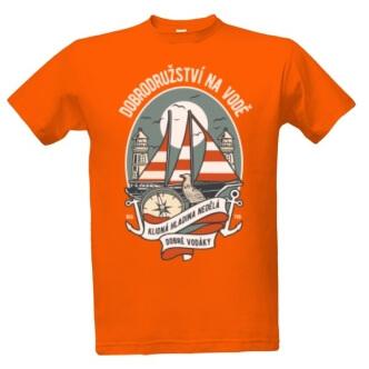Tričko s potiskem Dobrodružství na vodě