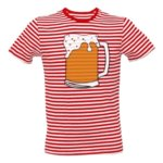Pruhované tričko Pivní námořník