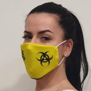 Ústní rouška Biohazard