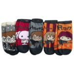 Chibi ponožky Harry Potter