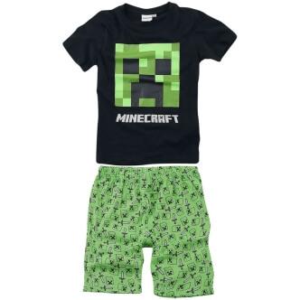 Dětské pyžamo s potiskem Minecraft Creeper
