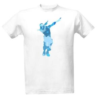 Tričko s potiske Fortnite Dab Dance
