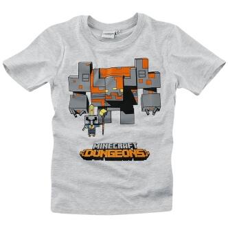 Dětské tričko Minecraft s potiskem Dungeons