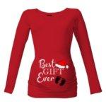 Těhotenské tričko Best gift ever