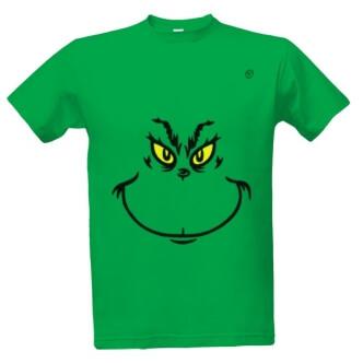 Tričko s potiskem Grinch