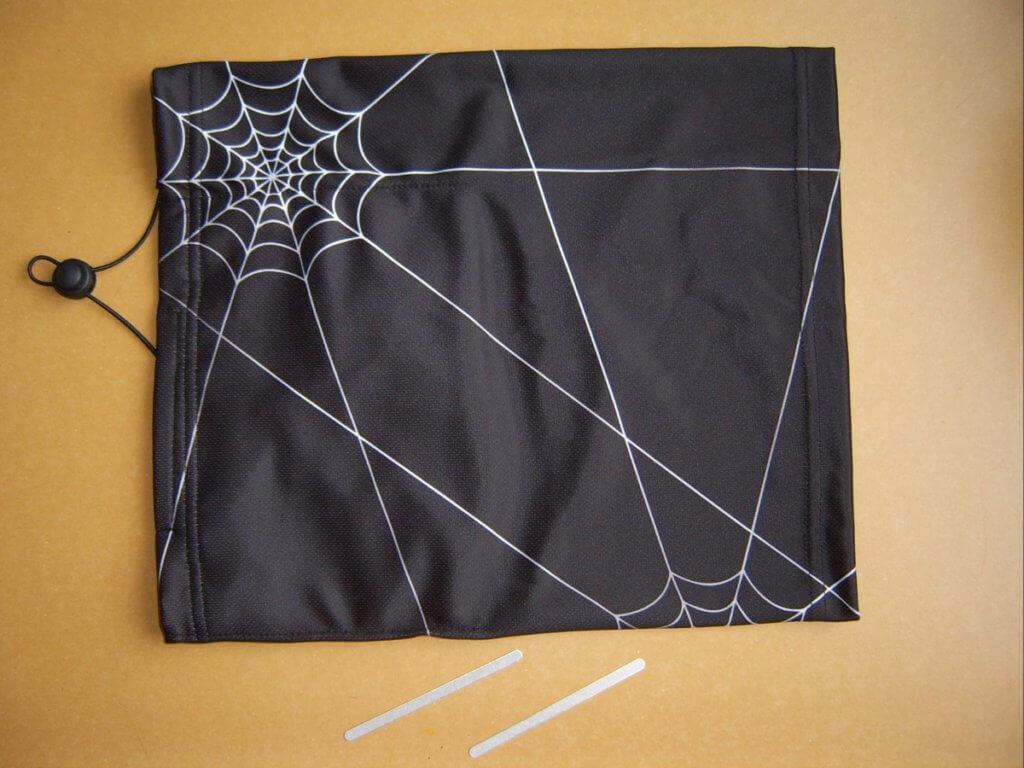 Černý nano šátek