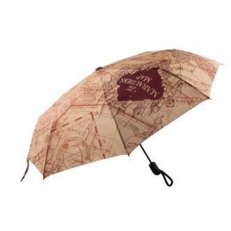 Deštník Harry Potter s potiskem Pobertův plánek
