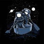 Tričko na vodu Across The Galaxy