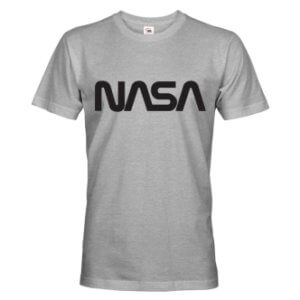 Tričko s potiskem NASA worm logo