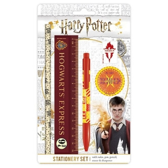 Školní potřeby Harry Potter s potiskem Nebelvír