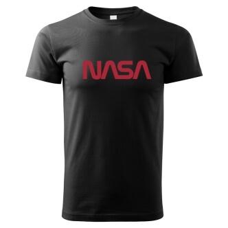 Dětské tričko s potiskem NASA worm logo