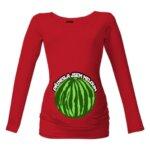 Těhotenské tričko Přinesla jsem meloun